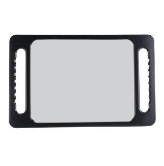 Rectangular Mirror Large Black