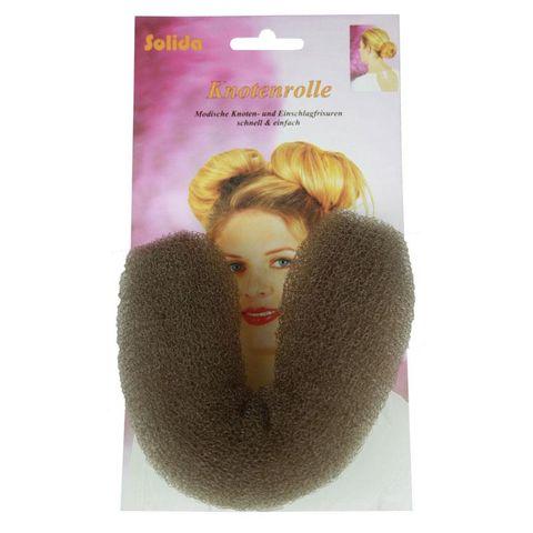 Solida Hair Sausage Brown 15cm 125979