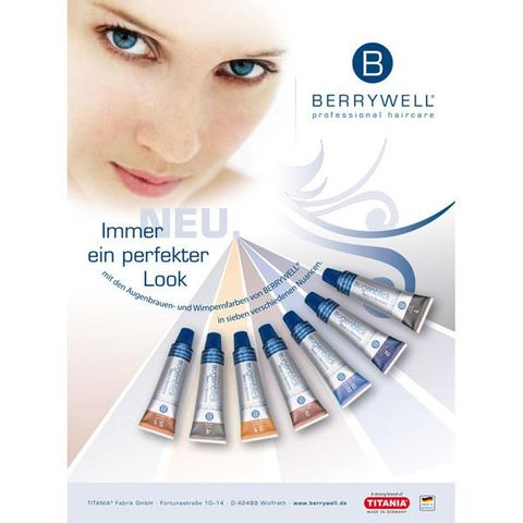 Berrywell Eyelash Tint 3 Nat Brown Bw03