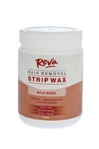 Reva Wild Rose Strip Wax 1l