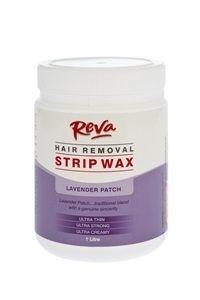 Reva Lavender Patch Strip Wax 1L