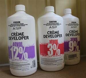 ASP Crème Developer 950ml