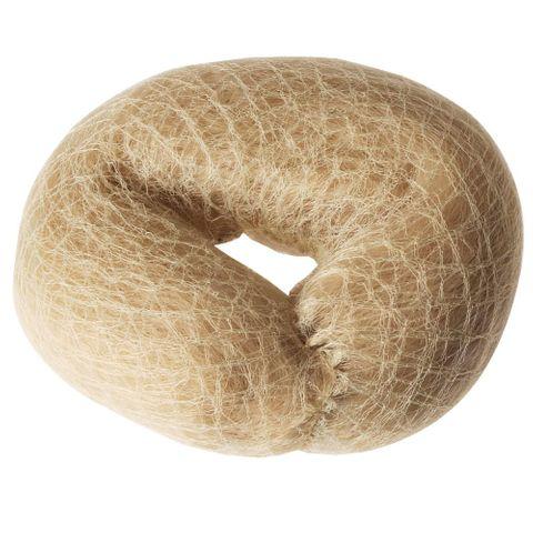 Santorini Hair Donut Blonde Round Padding