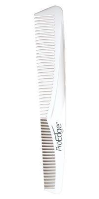 Denman Pro Edge Comb - White