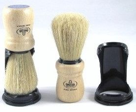 Omega B5 Light Wood Shaving Brush