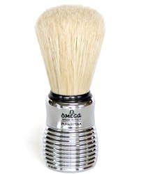 Omega 80 Aluminium Shaving Brush
