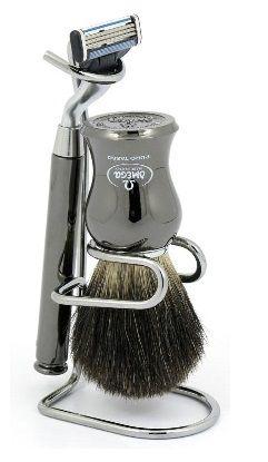 Omega Badger S/Brush wstand Razor#6276.W