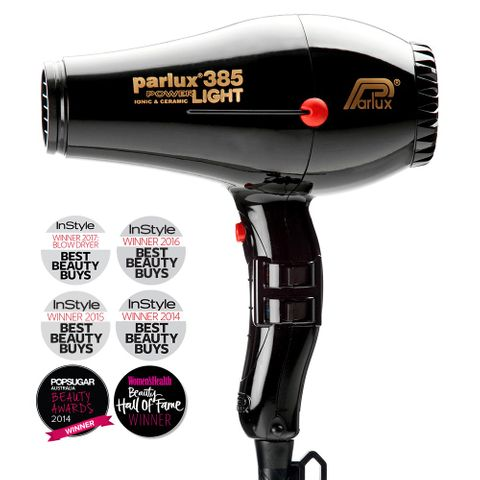 Parlux 385 Powerlight Dryer - Black