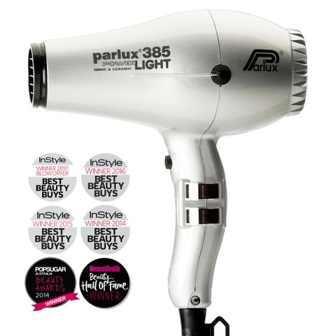 Parlux 385 Powerlight Dryer - Silver