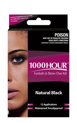 1000 Hour Eyelash Dye Kit Black