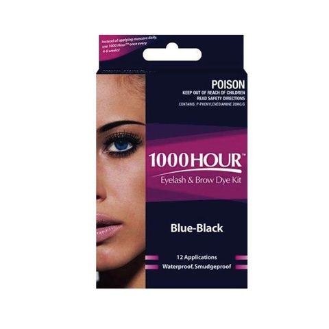 1000 Hour Eyelash Dye Kit Blue Black