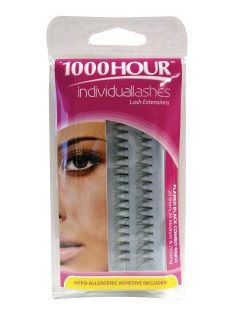 1000 Hour Black Flared Combo Lashes 60pc