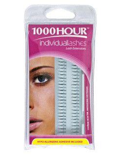 1000 Hour Lashes Singles Medium Blk 90pc