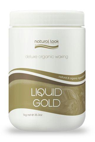 Natural Look Liquid Gold Wax Tub 1kg