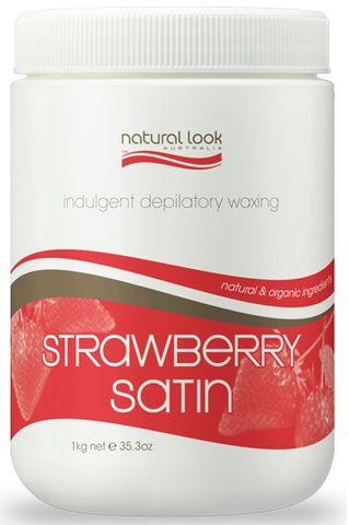 Natural Look Strawberry Liquid Wax 1kg