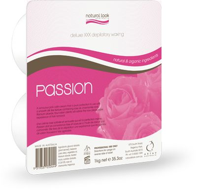Natural Look Passion Delux Hard Wax 1kg