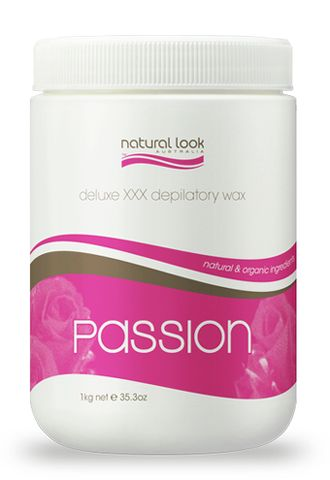 Natural Look Passion Delux Strip Wax 1kg