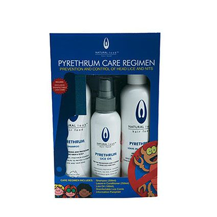 Natural Look Pyrethrum Lice Care Pack