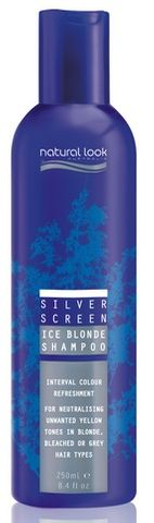 Natural Look Silver Screen Shampoo 250ml