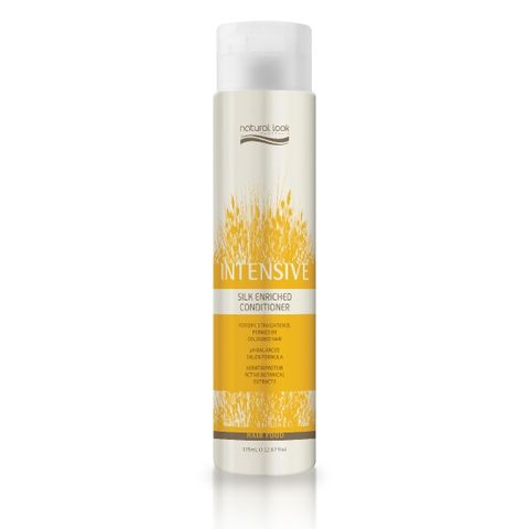 Natural Look Silk Enriched Cond 375ml