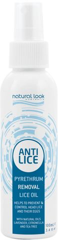 Natural Look Pyrethrum Lice Oil 100ml