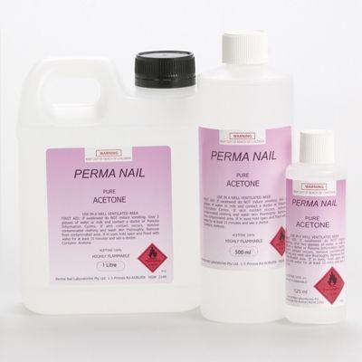 Perma Nail Polish Acetone 125ML
