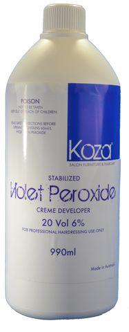 Koza 20vol VIOLET Creme Peroxide 990ml