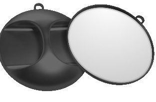 Koza Mirror Round Silver 988