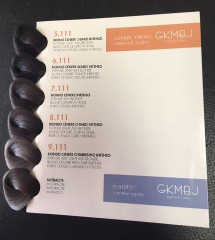 GKMBJ Intense Ash & Anthracite Chart