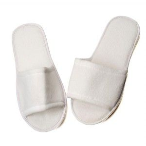 Dateline Spa Slippers White