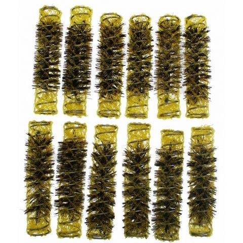 Santorini Brush Rollers Yellow 13.5mm