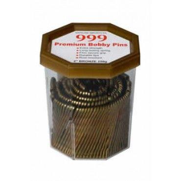 999 Bobby Pins 2 inch Bronze 250g