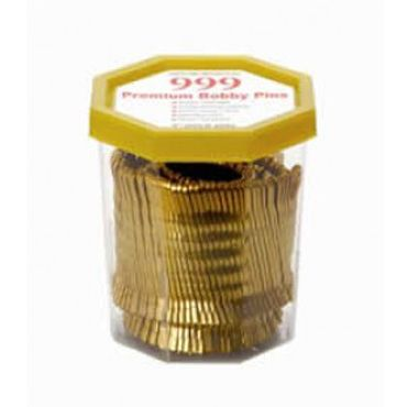 999 Bobby Pins 2 inch Gold 250g