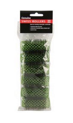Swiss Rollers Green 25mm 6in