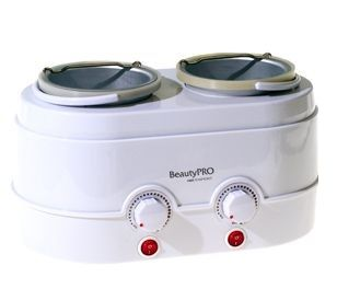 BeautyPro Expert Twin Wax Warmer 1000cc