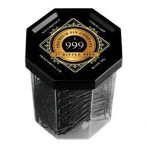 999 Ripple Pins 2 inch Black 250gm