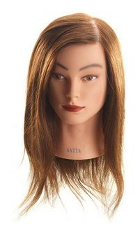 Mannequin Long Brown Anita 45-50cm