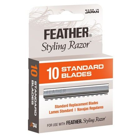 Feather Styling Razor Blades PACKET 10in