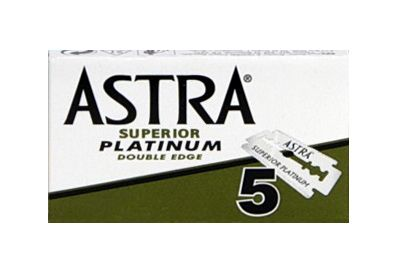 Astra Blades Platinum Green PACKET 5in
