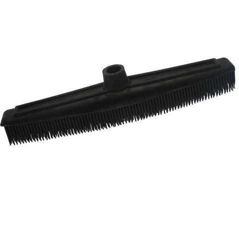 Rubber Broom Black
