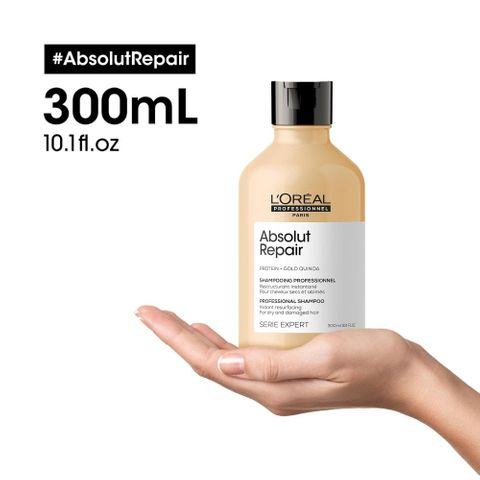 Loreal Absolut Repair Shampoo 300ml