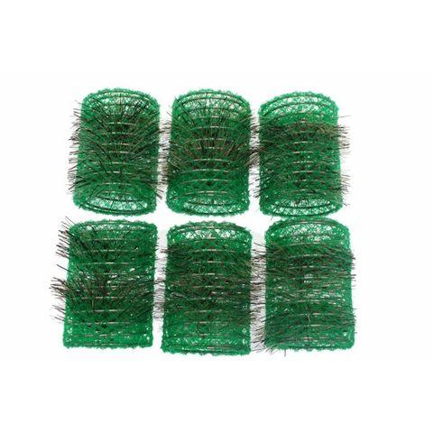 Santorini Brush Rollers Yellow 43mm 6 In