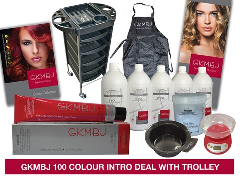 GKMBJ 100 Colour Fixed Deal with Trolley