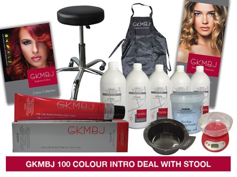 GKMBJ 100 Colour Fixed Deal with Stool