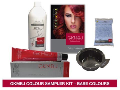 GKMBJ 6 Colour Sampler Base Colours