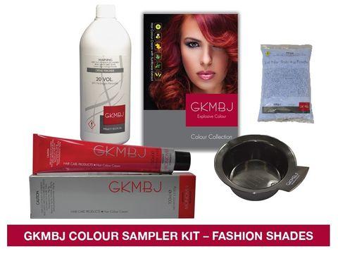 GKMBJ 6 Colour Sampler Fashion Colours