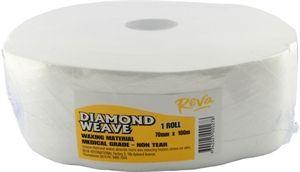 Reva Diamond Weave Roll 7cm X 100m Roll