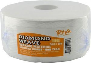 Reva Diamond Weave Roll 7cm X 50m Roll