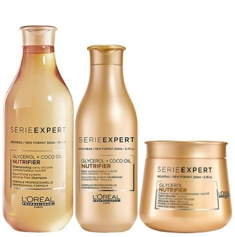 Loreal Nutrifier Trio - Shampoo, Conditioner and Treatment