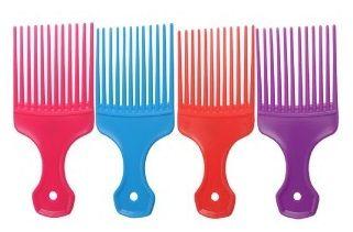 Salon Smart Afro Comb Assorted Colours